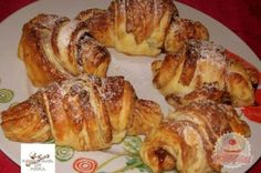 Érdekel a receptje? Kattints a képre! Hungarian Recipes, Croissants, Scones, Cookie Recipes, Cinnamon, French Toast, Muffin, Yummy Food, Cookies