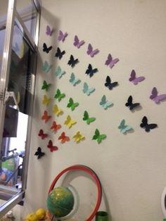 Metamorfosis de la mariposa. Portfolio de Elisa Pascual para #AulaInnova @cfiesalamanca