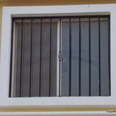 imagen de modelo de verjas de hierro verticales con diseño contemporáneo