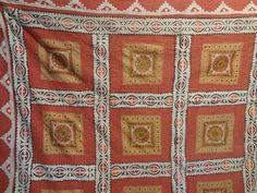 handmade applique work bedspreads with mirror by jaisalmerhandloom
