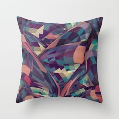 Marchin Throw Pillow by Danny Ivan - $20.00