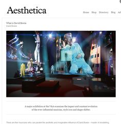 We reported recently about Student Artworks Foundation cooperation with well-known international art magazine Aesthetica. You can visit http://www.studentartworks.org/magazine/ and read their article about the ever-influential artist David Bowie - just click on red button 'GET FREE ARTICLE'.