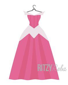 Disney Aurora Inspired Sleeping Beauty Princess Dress от RitzyReba