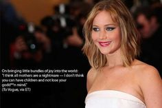 15 of the best Jennifer Lawrence quotes!