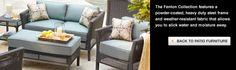 Patio furniture on pinterest patio seating patio dining sets and
