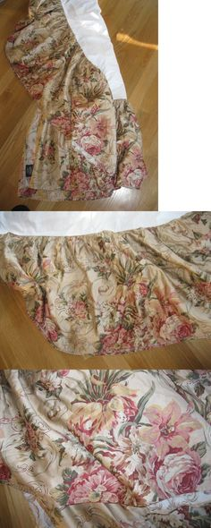 Bed Skirts 20450: New Ralph Lauren Cal Western King Size Guinevere Bedskirt Dust Ruffle -> BUY IT NOW ONLY: $49 on eBay!