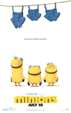 Minions movie synopsis, information and photos. Minions movie trailer and showtimes. 2015 Movies, Hd Movies, Movies To Watch, Movies Online, Movies And Tv Shows, New Minions Movie, Minion 2015, My Minion, Minions Despicable Me