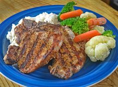Old El Paso Pork Chops seasoned with American Taco Spice.     I always have a homemade Mexican seasoning in my pantry that I like to call ...