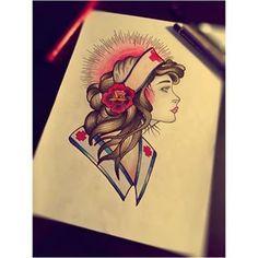 old school nurse tattoo - Google Search