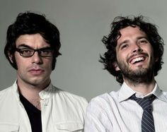 Bret McKenzie, one half of New Zealand comedy duo Flight of the Conchords, has been cast as an elf in The Hobbit movies. Bret Mckenzie, Jemaine Clement, Flight Of The Conchords, Comedy Duos, The Hobbit Movies, Some People Say, Hbo Series, Music Tv, Music Books