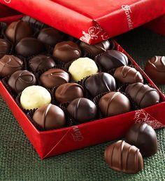 #FMChocolates 2 lb. Assorted Creams in Reindeer Wrap $49.99