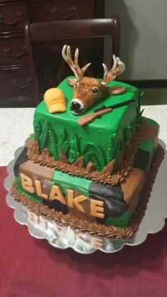 1000 Images About Hunting Cakes On Pinterest Hunting