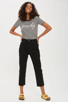 'Peachy' Motif T-Shirt - Tops - Clothing - Topshop