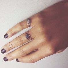 Swooning incredible hard over the beautiful paws of @Jana Rose Carrero - those matte nails, those #catbirdstacks