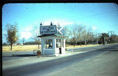 Williams Air Force Base Entry Gate, Circa 1970.