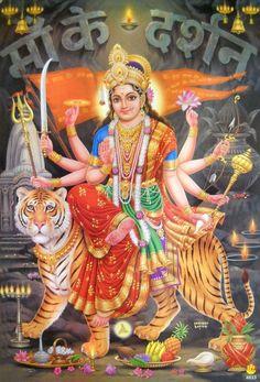 Maa Durga Hd Wallpaper, Maa Durga Image, Durga Ji, Indiana, Durga Images, Hanuman Images, Ganesh Images, Shree Krishna Wallpapers, Navratri Images
