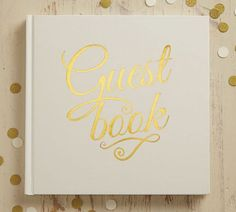 【Ginger Ray】 Guest Book-Ivory