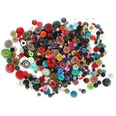 Hobbycraft Assorted Buttons 300 g
