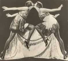 Dolly Sisters ( but I have a feeling they may actually be the Sisters G - what do you think?)