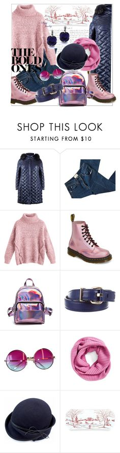 """""""Untitled #221"""" by ljubacelo ❤ liked on Polyvore featuring Elena Mirò, 3.1 Phillip Lim, Dr. Martens, Versace, Janis, Collection XIIX and Juliska"""