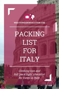 travelpackingtips electricity italy