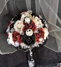 nice 45 Creative DIY Halloween Wedding Bouquets Ideas  https://viscawedding.com/2017/11/14/45-creative-diy-halloween-wedding-bouquets-ideas/