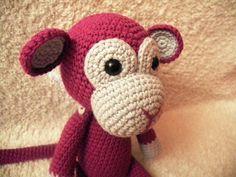 Háčkovaná opička na přání (30 cm) / Zboží prodejce Paaia | Fler.cz Opi, Crochet Hats, Fashion, Knitting Hats, Moda, Fashion Styles, Fashion Illustrations