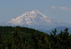 Mount Shasta, CA, from Highway299