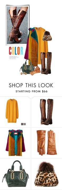 """""""Untitled #1882"""" by vinograd24 ❤ liked on Polyvore featuring Free People, Uniqlo, Freebird, JC de Castelbajac, Saks Fifth Avenue Collection, See by Chloé, DressCamp and Vivienne Westwood"""
