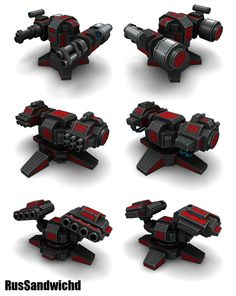 3 Sci-Fi Rocket Lunchers by RusSandwichd on DeviantArt