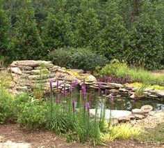 Creating a Water Feature...Here's an easy way to make your own oasis of calm in the backyard...