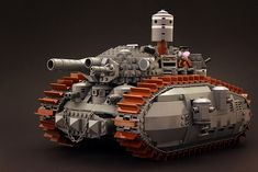 Lego Bad Guy Tank also known as the bauhaus corporation grizzly :)