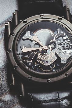 Manufacture Royale Androgyne Tourbillon Skull. More of our footage at WatchAnish.com.
