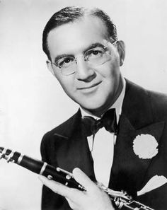 Benny Goodman, known as the King of Swing. His clarinet led a generation of music fans into the Big Band era in the 1930's.