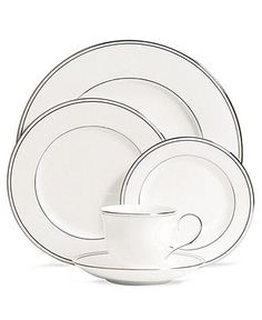 Lenox Dinnerware, Federal Platinum Collection - Fine China - Dining & Entertaining - Macy's