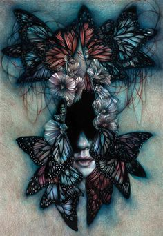 Marco Mazzoni - In My Younger Days (This is color pencil!!!)