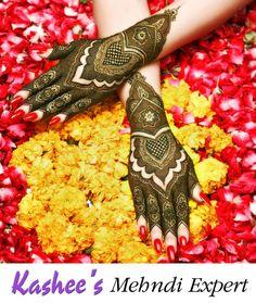 Wedding Mehndi Designs, Unique Mehndi Designs, Henna Designs Easy, Mehndi Designs For Hands, Mehandi Designs, Kashees Mehndi, Bridal Mehndi, Mehndi Design Pictures, Henna Art