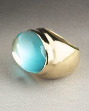 Just Jewelry: Blue Topaz Ring