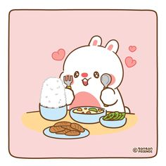 Cute Couple Cartoon, Cute Cartoon Animals, Cute Animals, Cute Desktop Wallpaper, Chibi Wallpaper, Drawing Cartoon Characters, Cute Characters, Cute Images, Cute Pictures