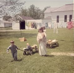 reminds me of childhood playing in the backyard.  We had the best backyard...now my yard is just a giant dust bowl :(