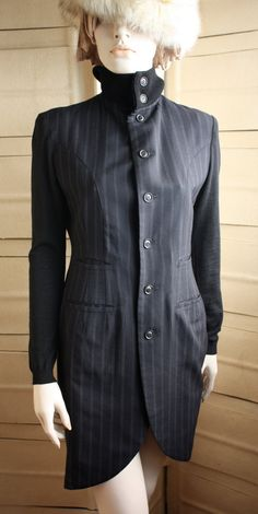 80's Yohji Yamamoto Dress Jacket by NYtoLAvintage on Etsy, $285.00
