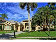 Luxury estate home on Colony Dr in Bay Colony Shores (the beach side of Bay Colony)  North Naples, Florida