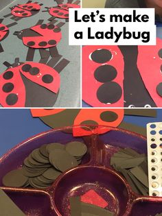 Ladybug craft for bu