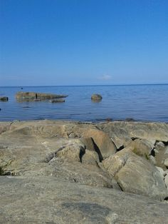 The distant, serene horizon of Fäboda Beach. Archipelago, The Great Outdoors, Serenity, Cravings, Travel Destinations, Scenery, Spaces, Country, World