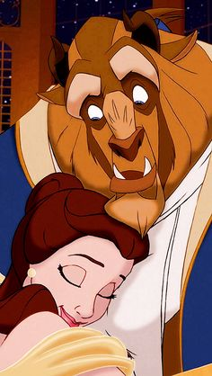 The look when you really like a person but you don't know if they like you back | Beauty and the Beast