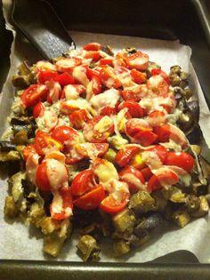 Una cosa come la parmigiana arrangiata :) #lamiacucina #parmigiana