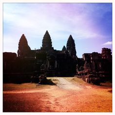 Spent Christmas exploring and meditating at Angkor Wat in Cambodia. Truly a magical place.    #inspired