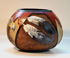 Gourd Art by Jennifer Hershman