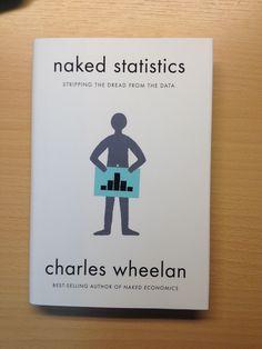 Statistiek leuk? Met zo'n omslag wel. Charles Wheelan, Naked Statistics.