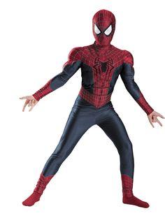 Superhero costumes Spiderman Image Credit: Spirit Halloween  via @AOL_Lifestyle Read more: http://www.aol.com/article/2014/12/19/an-easy-and-delicious-recipe-for-homemade-eggnog-chai-lattes/21119191/?a_dgi=aolshare_pinterest#fullscreen